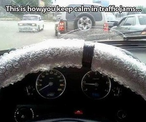 funny, lol, and traffic image
