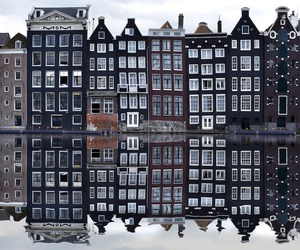 amsterdam, building, and city image