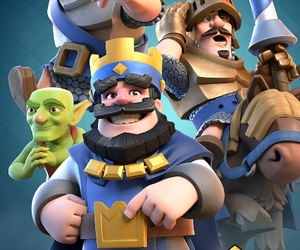fight, clash of clans, and best game ever image