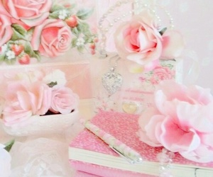 pink, pretty, and rose image
