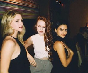 lili reinhart, camila mendes, and madelaine petsch image