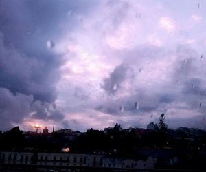clouds, photography, and purple image