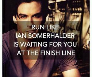 ian somerhalder, run, and Hot image
