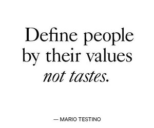 quotes, taste, and values image
