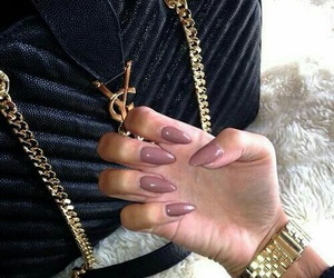 nails, fashion, and YSL image