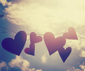 hearts and love image