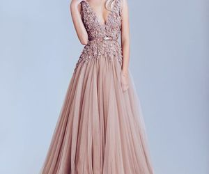 dresses, pink dresses, and beautiful dresses image