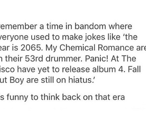 FOB, mcr, and P!ATD image