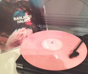 badlands, record, and vinyl record image