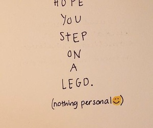 lego, funny, and quotes image