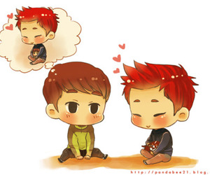 2PM, chibi, and kpop image