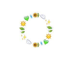 overlay, circle, and emoji image