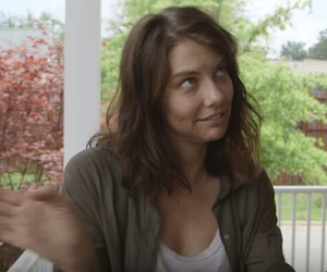 funny face, maggie greene, and the walking dead image