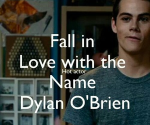 dylan o'brien, teen wolf, and fall in love image