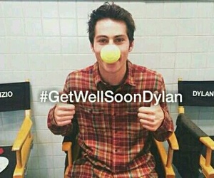 dylan o'brien, getwellsoondylan, and teen wolf image