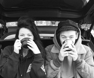b&w, harrystyles, and mylove ​ image