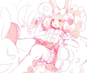 art, pastel, and bunny image