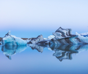 beauty, blue, and cold image