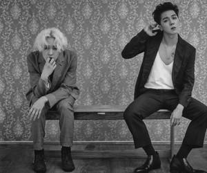 b&w, mino, and taehyun image