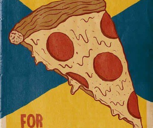 pizza, president, and food image