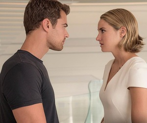 divergent, four, and allegiant image