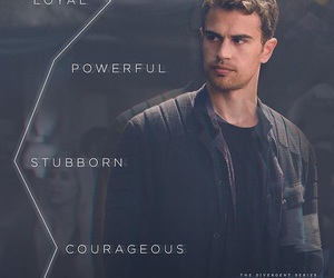 allegiant, four, and divergent image