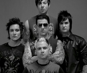 avenged sevenfold, a7x, and johnny christ image