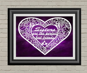 etsy, gifts for sister, and sister quotes image