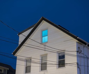 blue, house, and aesthetic image