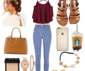 accesories, iphone, and jeans image
