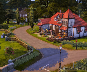 house, lots, and the sims image