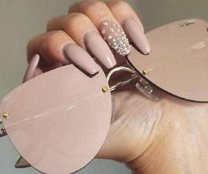 fashion, shades, and nails image