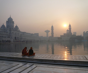 sunset, beautiful, and india image