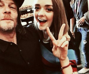 game of thrones, norman reedus, and the walking dead image