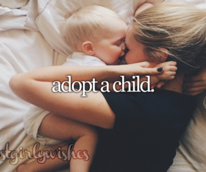 adoption, woman, and baby image