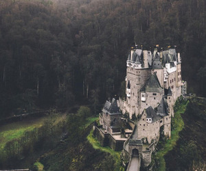 castle, nature, and green image