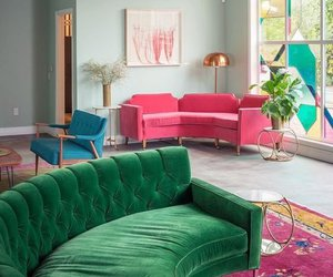 couch inspiration and is that velvet? image