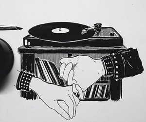 music, art, and drawing image
