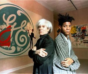 basquiat, andy warhol, and art image