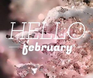 february, hello, and hello february image