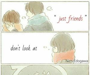 anime, friends, and like image