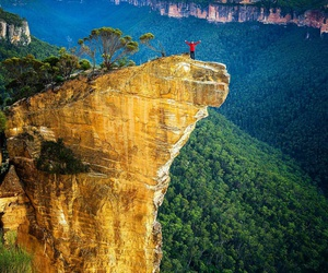 australia, hanging rock, and hiking image