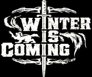 winter is coming and game of thrones image