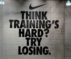 nike, motivation, and training image