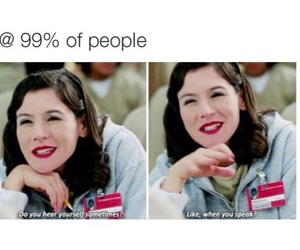 funny, people, and orange is the new black image