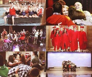 glee, glee cast, and lea michele image