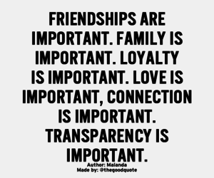 family, friendship, and life image