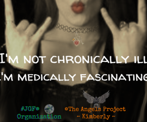 angels, awareness, and illness image