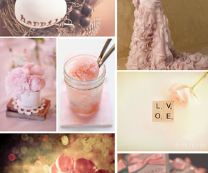 country, pink, and wedding image