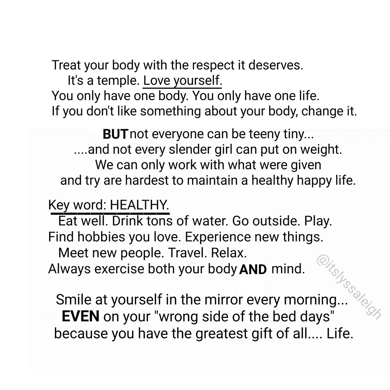 Love And Respect Quotes Love Yourselfrespect Yourselfstay Healthy And Happy Quotes